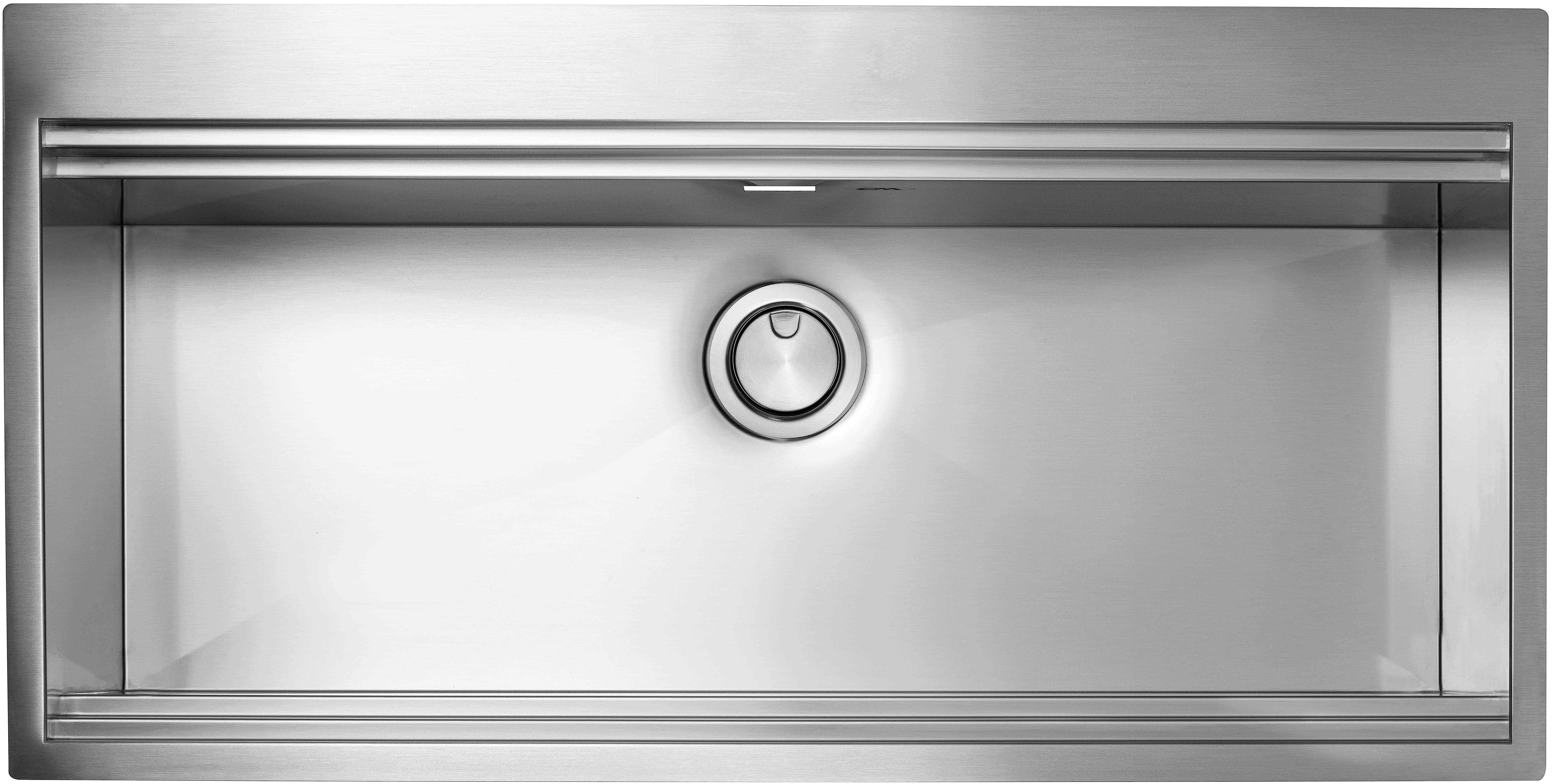 Lavelli in acciaio inox da incasso apell criteria kit - Lavello cucina incasso ...