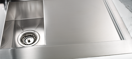 Lavandino Cucina In Acciaio.Lavelli Per Cucina Gioielli D Acciaio